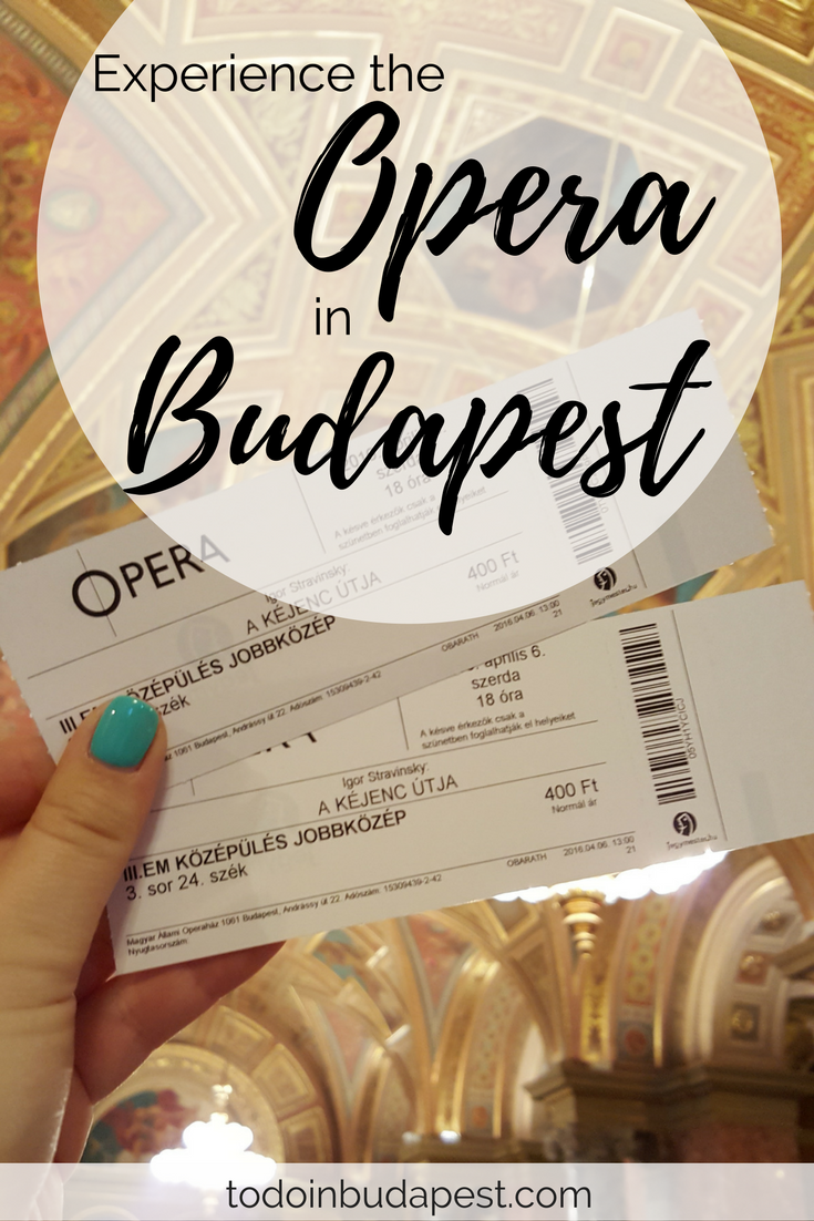 Do you want to attend the opera in Budapest? Great idea! Find more info on planning your visit to the opera on todoinbudapest.com