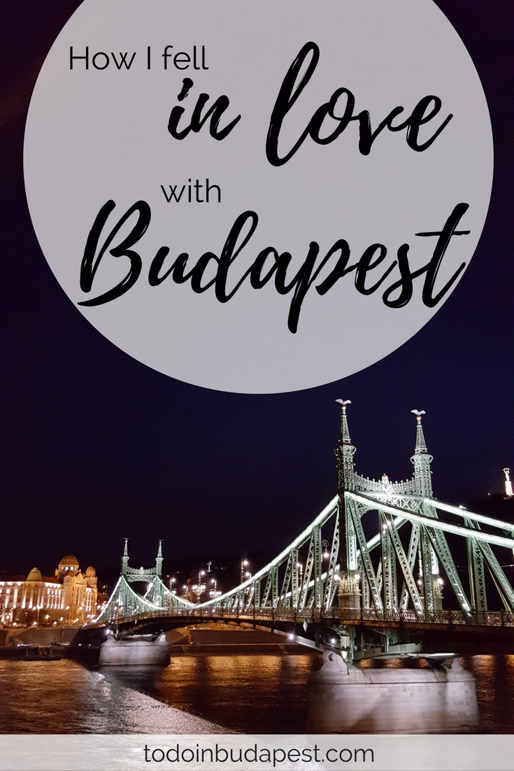 I am in love with Budapest! I'm sharing how I fell in love with the city on todoinbudapest.com