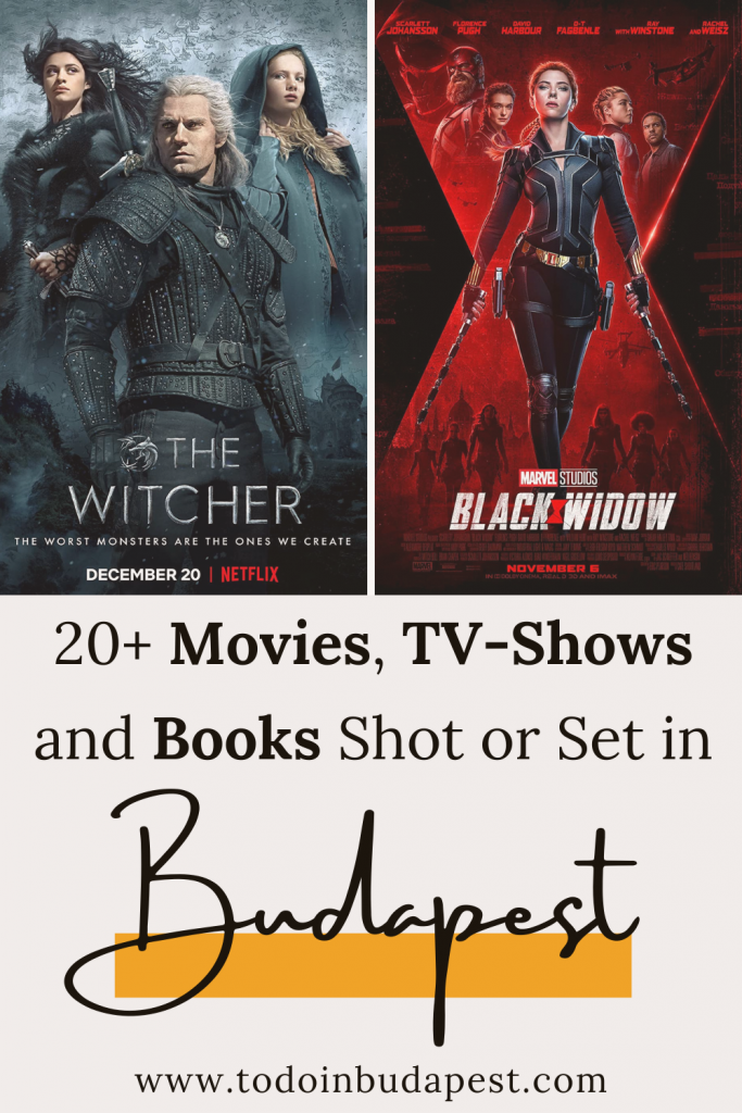 The Witcher, Black Widow, and more: Some of your favorite movies and tv-shows are shot or set in Budapest. Found out 20+ movies, tv-shows and books located or filmed in Budapest on todoinbudapest.com!