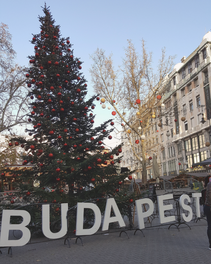 Winter in Budapest means Christmas markets throughout the city! They're at their best in the late afternoon and evening, when it's a bit busier and the lights are on.