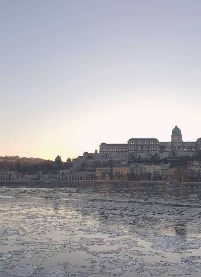 If it's really cold in Budapest in winter, the Danube can freeze over. It makes for an impressive view!